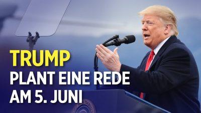 """Ex-US-Präsident Trump: Kundgebung """"in den nächsten ein oder zwei Wochen"""""""
