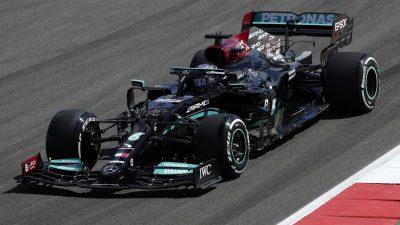 Portugal-Quali: Hamilton steuert 100. Pole Position an