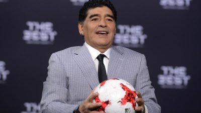 Medizinische Versorgung von Maradona zuletzt unzureichend