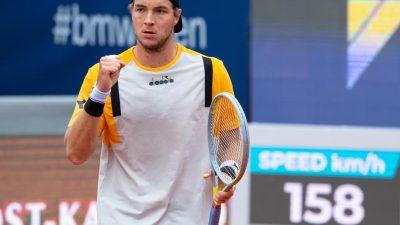 Tennisprofi Struff erreicht erstes ATP-Finale der Karriere