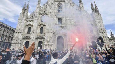 Jubel auf dem Domplatz – Inter Mailand vorzeitig Meister