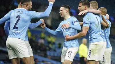 Manchester City erstmals im Champions-League-Finale