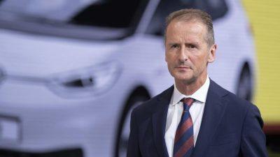 VW-Chef Diess: Es gibt eine grundsätzliche Knappheit bei Chips und Halbleitern