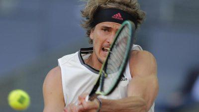 Zverev im Viertelfinale – Jetzt gegen Sandplatz-König Nadal