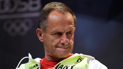 Klett: DOSB-Präsident Hörmann soll zurücktreten