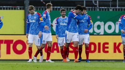 Holstein Kiel erhöht Druck auf den HSV