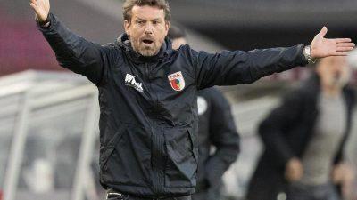 Trotz Niederlage: Augsburg-Profis loben Weinzierl