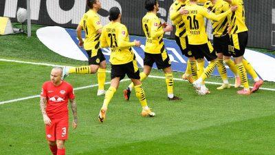 BVB schöpft Mut fürs Pokalfinale: Sieg über Leipzig