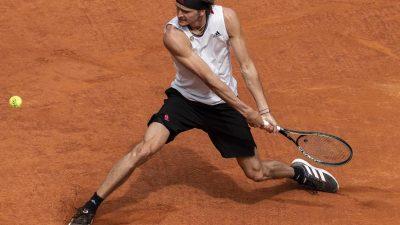 Auch Thiem geschlagen: Zverev im Masters-Finale von Madrid
