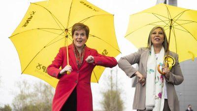 Schottisches Wahlergebnis befeuert Unabhängigkeitsdebatte – SNP verfehlt knapp absolute Mehrheit