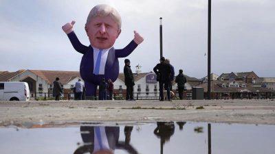König nur von England: Boris Johnson und das zerrissene Land