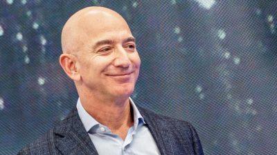 Jeff Bezos verkauft Aktien im Wert von 6,7 Milliarden US-Dollar