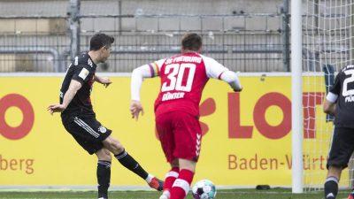 Lewandowski egalisiert Müller-Rekord bei Bayern-Remis