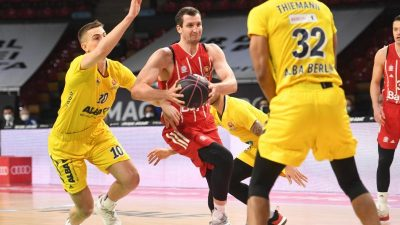 Alba entthront: Bayerns Basketballer gewinnen den Pokal