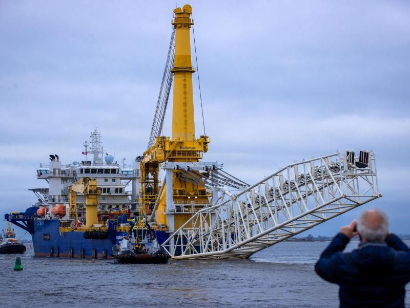 Nord Stream 2 darf zwei Kilometer Leitung legen