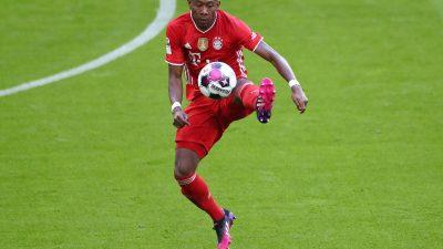 Alaba verlässt Bundesliga als Spieler-Rekordmeister