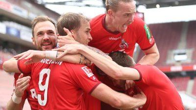 1:0 gegen Schalke: Bornauw rettet Köln in die Relegation