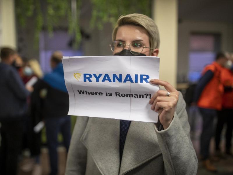 Flugzeug-Umleitung:USA fordern nach Zwangslandung in Minsk internationale Untersuchung