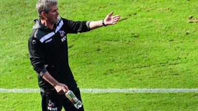 Kölns Trainer Funkel: «Überzeugt, dass wir es schaffen»
