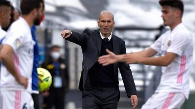 Zidane hört als Trainer bei Real Madrid auf