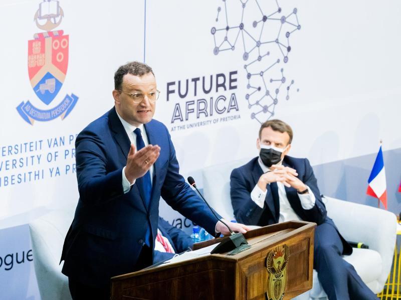 Deutschland kündigt Finanzhilfe für Covid-Impfstoffproduktion in Südafrika an
