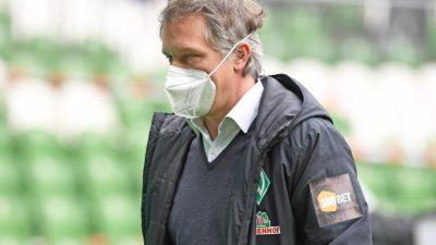 Werder-Sportchef Baumann: Drei Favoriten bei Trainersuche