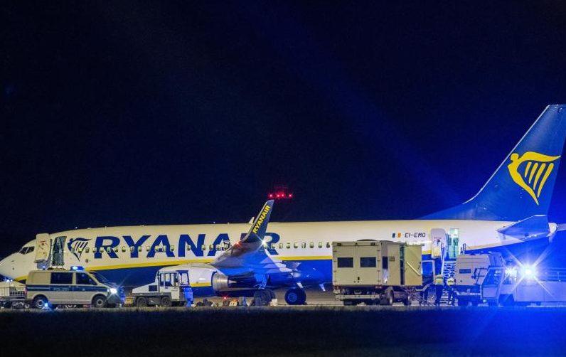 Telefonhinweis führte zu außerplanmäßiger Landung von Ryanair-Maschine in Berlin