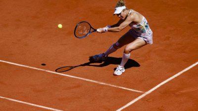 Deutschen Tennis-Damen droht Tristesse bei den French Open