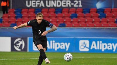 U21 ringt Dänemark nieder und erreicht EM-Halbfinale