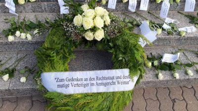 """Verfolgung von Richter in Weimar – Anwalt: """"Staat scheint gehörig unter Druck zu stehen"""""""
