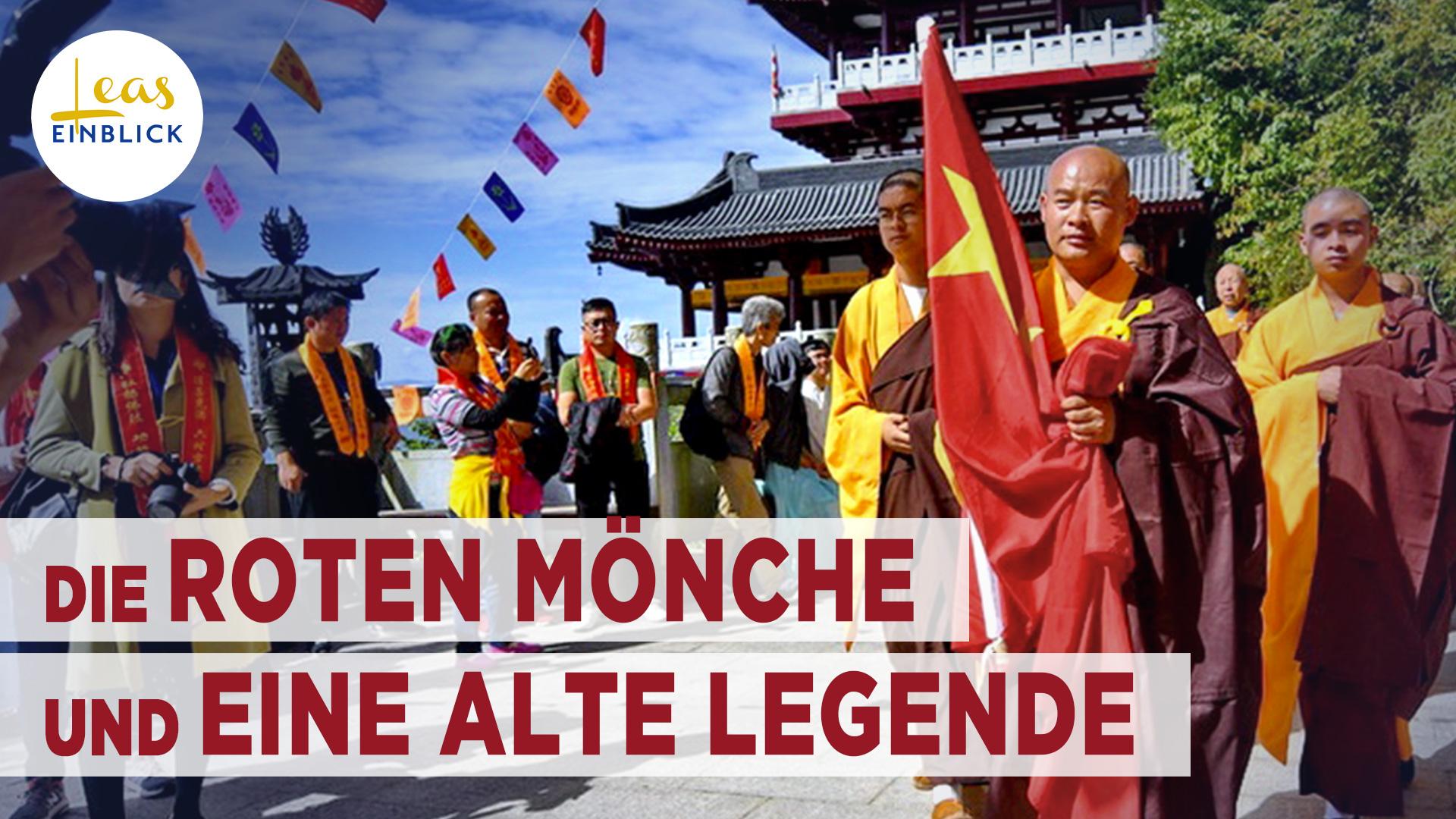 Die roten Mönche und die alte Legende