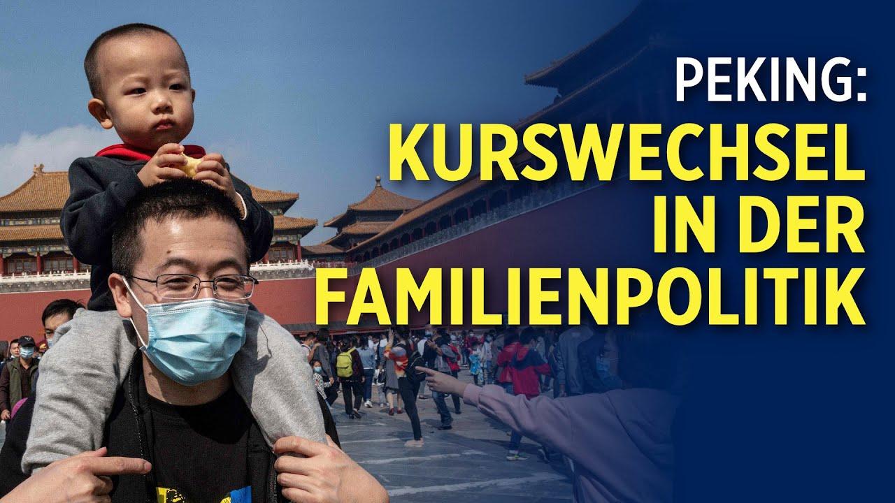 """""""Drei-Kinder-Politik"""": KP Chinas erlaubt drei Kinder pro Familie"""