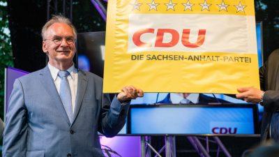 Endgültiges Wahlergebnis: CDU als stärkste Kraft in Sachsen-Anhalt