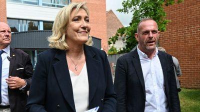 Rückschlag für Rassemblement National bei Regionalwahlen in Frankreich – Le Pen enttäuscht
