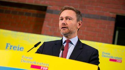 FDP in neuer Umfrage gleichauf mit SPD – Vorsprung der Grünen geschrumpft