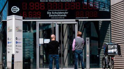 Bund: Rund 100 Milliarden Euro neue Schulden im Jahr 2022