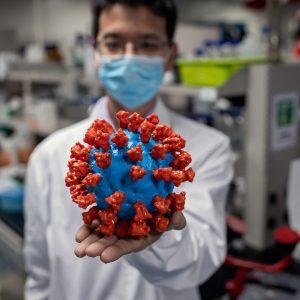 Experimentelle Impfung gegen ein nicht isoliertes Virus