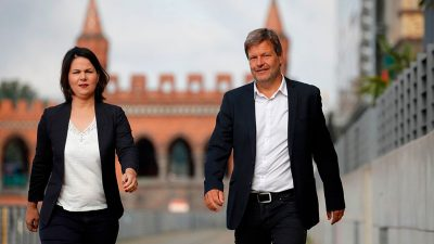 Vorsprung der CDU/CSU vor Grünen wächst