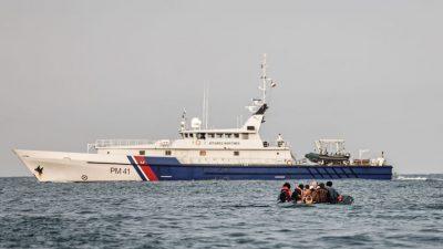 Illegale Migration: Frankreich fordert Frontex-Einsatz im Norden Europas