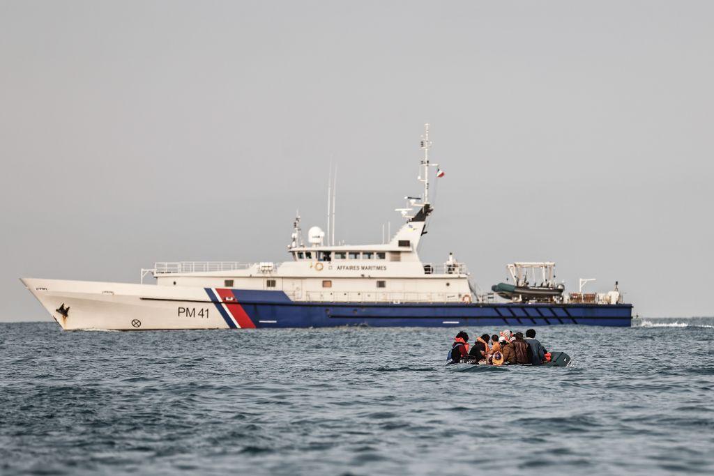 Französische Marine: 80 illegale Migranten im Ärmelkanal aus Seenot gerettet