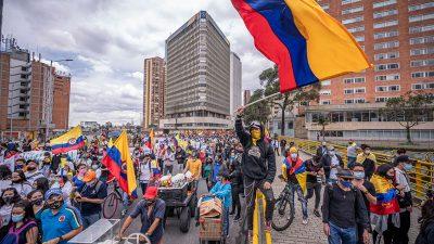 Erneut Massenproteste gegen Präsident Duque in Kolumbien
