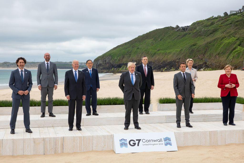 G7-Gipfel im englischen Cornwall begonnen – Corona-Fall in deutscher Vorausdelegation