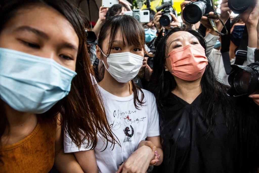 Hongkonger Aktivistin Chow an Jahrestag von Massenprotesten freigelassen