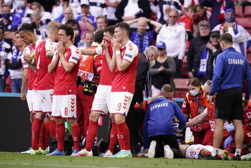 Kritik an Berichterstattung nach Kollaps vom dänischen EM-Fußballer
