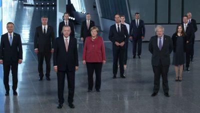 Merkel bekräftigt Nato-Ziel bei Verteidigungsausgaben