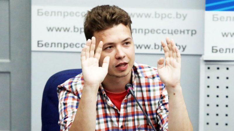 Belarus: Protassewitsch aus Gefängnis in Hausarrest verlegt