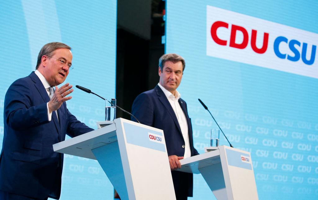 """""""Stabilität und Erneuerung"""": Unionsparteien stellen gemeinsames Wahlprogramm vor"""