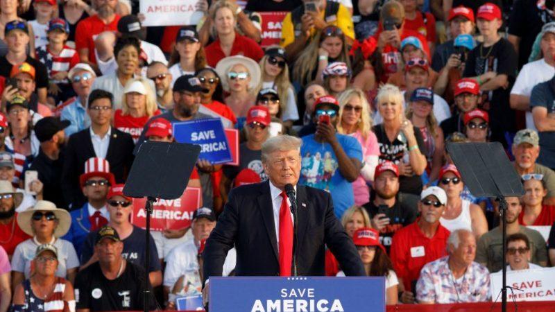"""Ex-Präsident Trump: """"Sicherstellen, dass Amerika und nicht China die Zukunft dominiert"""""""