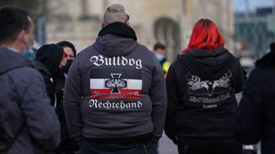 """Verfassungsschutz stuft """"Freie Sachsen"""" als rechtsextremistische Bestrebung ein"""