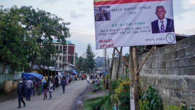Parlamentswahl in Äthiopien: Konflikt und Unruhe in der Region Tigray